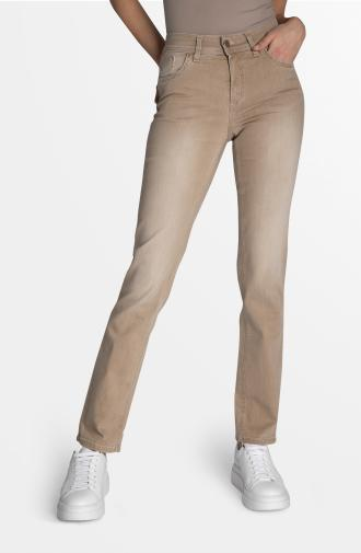 DAISY TROUSERS - dark beige
