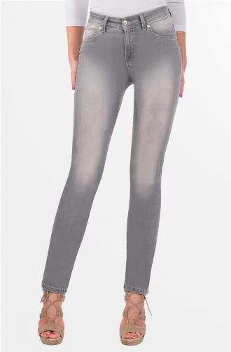 DAISY TROUSERS - light grey