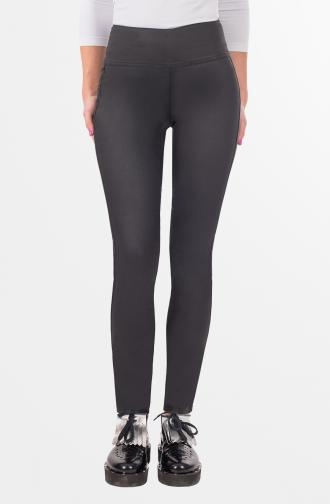 TROUSERS DIANA - black