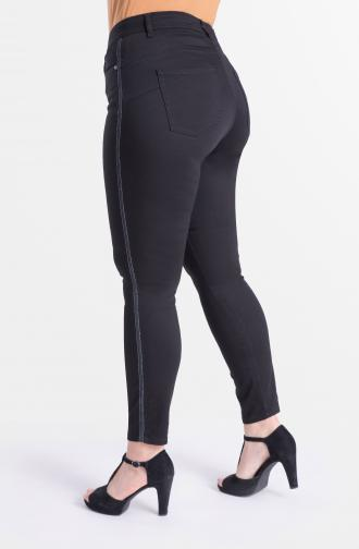TROUSERS KAMA - black