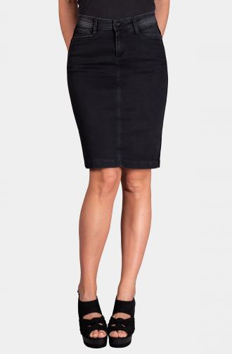 SKIRT KATE - black washed
