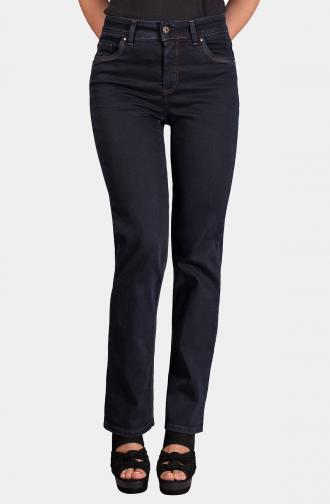 TROUSERS MILLA - dark blue