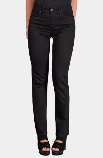 TROUSERS MILLA - black