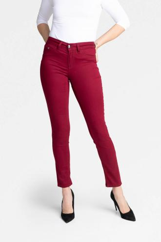 TROUSERS PAMELA - burgundy