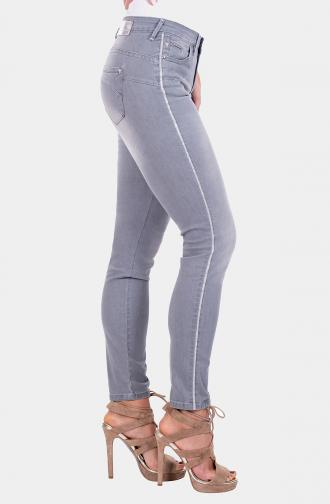TROUSERS SABRINA - light grey