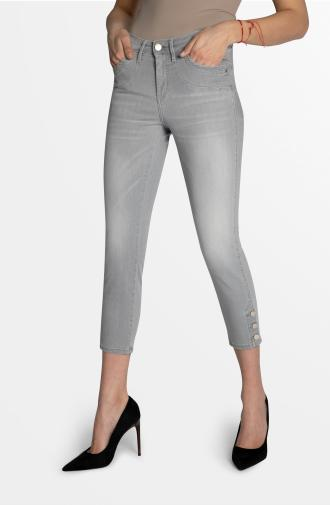 SABRINA TROUSERS - light grey