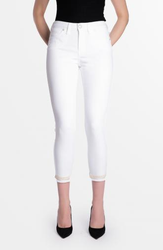 SABRINA TROUSERS - white